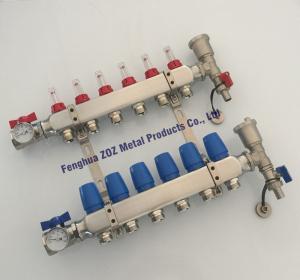underfloor heating stainless Steel tube manifold