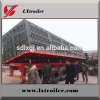 Best cheap price 2,3, 4 axle tractor hydraulic cylinder side or rear end tipping dump truck semi trailer wholesale