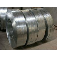 Quality Regular Spangle Hot Dipped Galvanized Steel Strip , Galvanized Metal Strips For Profiles for sale