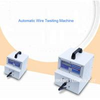 Quality Professional Wire Twisting Machine Twist Two Or More Wires Together 3 Types Clamps Option for sale