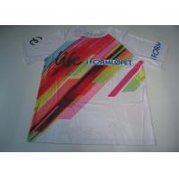 Quality Sublimation Custom Printed Sport T Shirts Running T Shirt Quick Dry for sale