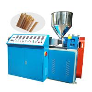 China Biodegradable Drinking Straw Making Machine Sugarcane Fiber PLA Raw Material on sale