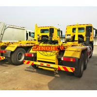 Quality Heavy Hook Lift Garbage Truck, 20 Ton Loading 6x4 Waste Container Truck for sale