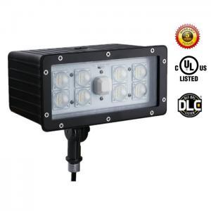 Quality UL DLC List 6800Lm 70W LED Flood Light Energy Saving Aluminum Housing for sale