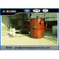 Quality High Reliability Precast Concrete Forms , Rcc Pipe Making Machine Faster Production for sale