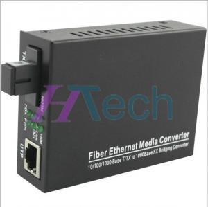 China Fiber Media Converter 1000Base Single-mode Single Fiber 20km SC on sale