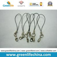 Quality Standard Nylon Black String Loop with Mini  Lobster Clasp for Attaching Pendants for sale