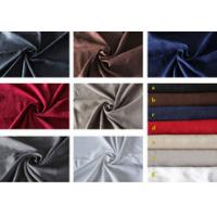 Quality OKTEX 100 approved thick sofa upholstery fabric,wholesale fabric,100 polyester suede fabric for sale