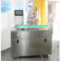 China Automatic R134a Refrigerant Freon Filling Machine , Aerosol Can Filling Equipment on sale