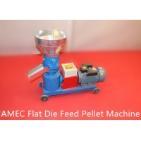Quality Home Flat Die Chicken 100kg/h 1000kg/h Animal Feed Making Machine for sale