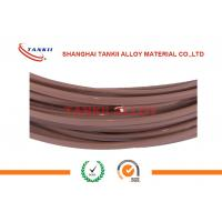 Quality ANSI Extension Single Type T Thermocouple Wire 2*0.2mm With Teflon Insulation for sale