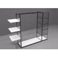 Buy cheap Custom Clothing Store Display Racks Garment Display With Metal Power Coated from wholesalers