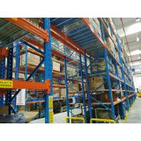 Quality Forklift Order Picking Carton Flow Racking Systems , Pallet Conveyor Systems Stainless Steel for sale