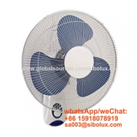 Quality 75W 16 inch electric plastic wall fan by pull string for office and home appliances /Ventilador de pared for sale