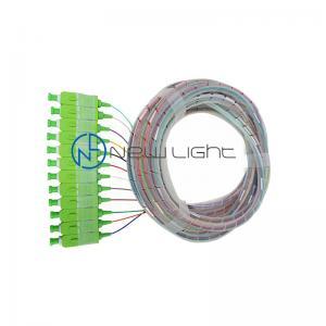 Quality OFNR LSZH SC OM3 Fiber Optic Patch Cable Outdoor Duplex for sale