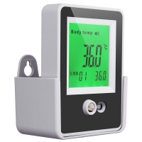 Quality Alarm 15CM Temperature AI Doorbell Wall Mount Thermometer for sale