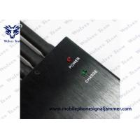 Quality High Power GPS Jammer Wall Plug Power Source 5 Band Working Separately / Simultaneously for sale