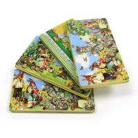 Quality Wholesale Easter rectangular tin box for chocolates for sale