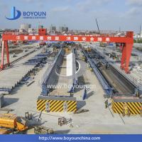 China Precast Concrete Steel Formwork System , Formwork Moulds For Railway Project Construction on sale