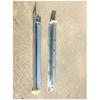 Quality 1.4*1.4mm Undermount Drawer Slides , Kitchen Cabinet Drawer Slides Push To Open for sale