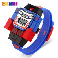 Quality Kids Blue Multifunction Digital Mini Watch With Exchangable Strap for sale
