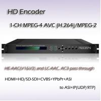 Quality REH2301 Single-Channel MPEG-2/H.264 SD/HD Encoder for sale