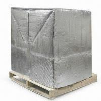 Quality Foil Bubble Thermal Insulation and Reflective Radiant Barrier, for Pallet Cover and Container Lining for sale