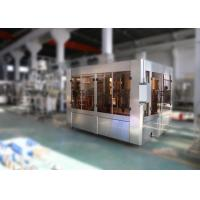 Pure Bottled Automatic Water Filling Machine , Mineral Water Bottling Machine 7.5KW