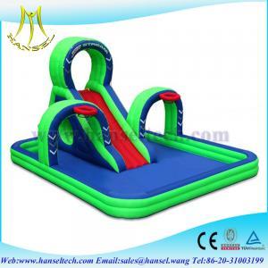 China Hansel Popular Jumbo Exciting Inflatable Slide, Kids Large Slide water slide on sale