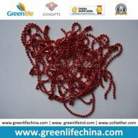 Quality Fashionable Hot Sale in Europe Christmas Red Metal Ball Chain for sale