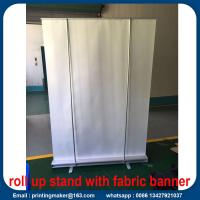 Quality Aluminum Advertising Roll Up Banner Printing for sale