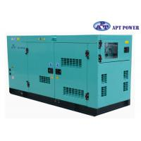 30kVA 1500rpm Cummins Diesel Generator with AMF / ATS Panel , AC Output