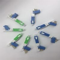 Quality SC Fast Fiber Optical Connector , UPC Polishing Quick fiber optic adapters for sale