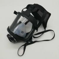 Buy Respirator Full Face Mask For Breathing Apparatus Sillcone PC Lens For Fire at wholesale prices