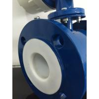 Cheap Gasoline Stainless Steel Electromagnetic Flow Meter with Rubber Linging for sale