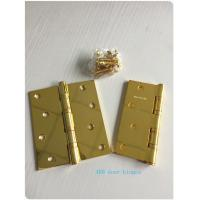 Quality GP Golden Plated Steel Ring Ball Bearing Door Hinges 2.7 Mm 2.5mm 3.0mm for sale