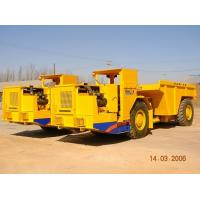 Buy cheap Load Haul Dump Truck Underground Haul Truck / Mining Loader +/-40° Turning Angle from wholesalers