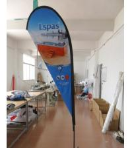 Quality Medium Teardrop Flag Banners with Cross Feet for sale