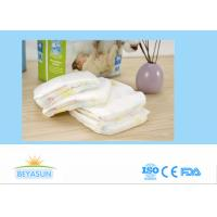 China Velcro Tape Happy Nappy Disposable Baby Diapers Size 3 Soft Breathable Topsheet on sale