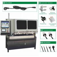 Buy cheap Senjia Factory Price Full Automatic 3 Wire cut strip crimping and insert machine from wholesalers