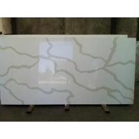 China Composite Antique Quartz Stone Slab for window sill , floor tile , wall tile on sale