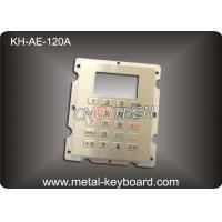 Best IP65 Stainless Steel 20 Button Gas Station Kiosk Keypad In 4x5 Matrix wholesale