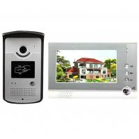 Quality 4 Wires Villa Video Door Phone video intercom system for villa  With High Security Video door camera for sale