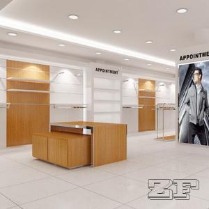 China Luxury Men's Clothing Display Rack on sale