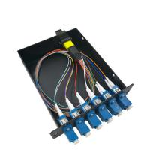 "Quality 12 Core MPO MTP Ber Optic Cassette Module Single Mode For 19"" 1U Distribution Box for sale"