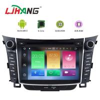 Quality 7 Inch Touch Screen I30 Hyundai Car DVD Player Android 8.0 With BT WIFI for sale