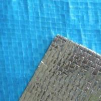 Quality Sarking/Insulation Underlay Blue PE Woven Foil Laminated Material with Breathable Membrane for sale