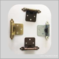 Quality Brass Color Chrome Butterfly Cabinet Hinges Butt Type High Performance for sale