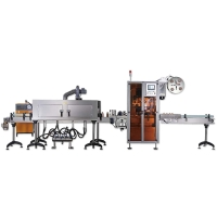 Quality Higee cup wholesale shrink sleeve labeling machine ice cream tubs shrink sleeve labeling machine for sale