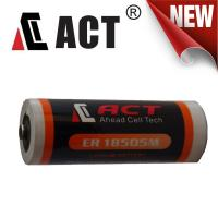 Buy cheap ACT ER18505M LiSOCI2 Lithium Power Battery 3.6V 3500mAh from wholesalers